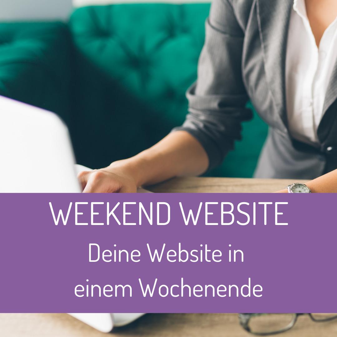 Website neu erstellen